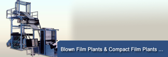 Compact blown film plants - Compact blown film plants manufacturers,Compact blown film plants exporters India