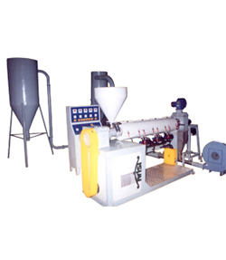 Granulation Plant Manufacturer, Granulation Plant With Die Face Cutter